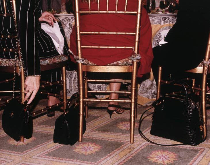 Givenchy Luncheon, Hotel Carlisle, New York, 2000