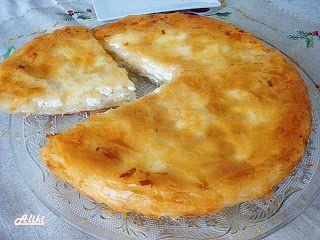 Mamina jela: Domaći burek sa kupovnim korama ... Burek w/store bought thin filo