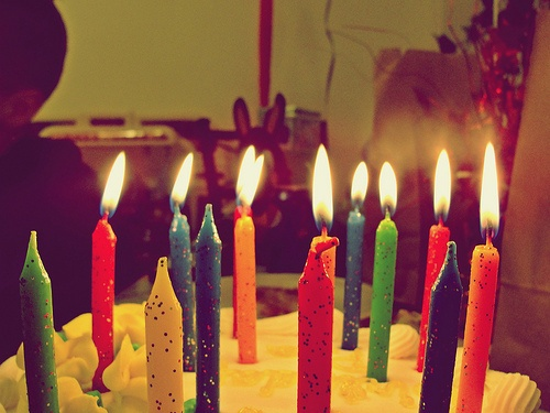 My birthday, my mom's birthday, my Ruby's birthday and my sisters birthday are all around the bend.