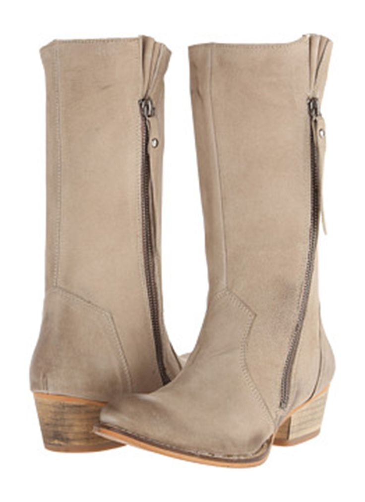 Chester Leather Boots - Stone | Buy Online at Mode.co.nz