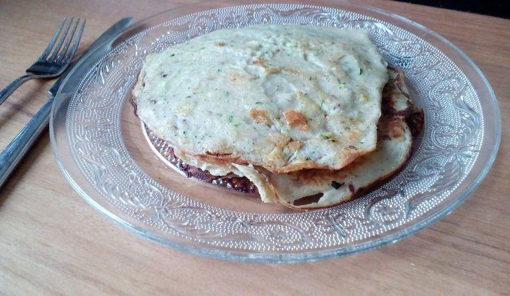 Courgette-pannenkoeken