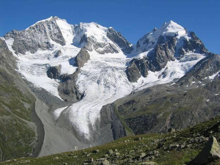 Piz Bernina, Alps, Italy
