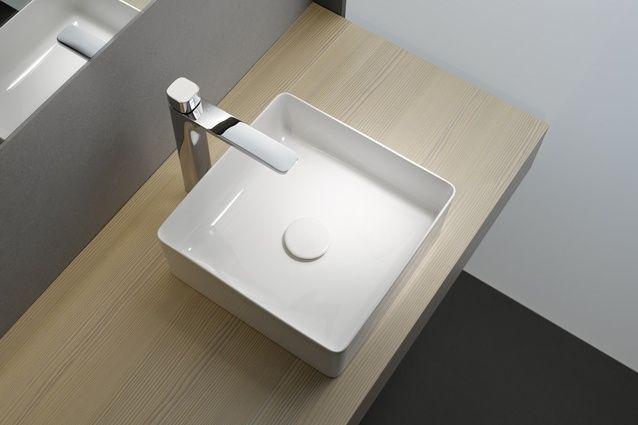 Square basin | Laufen SaphirKeramik