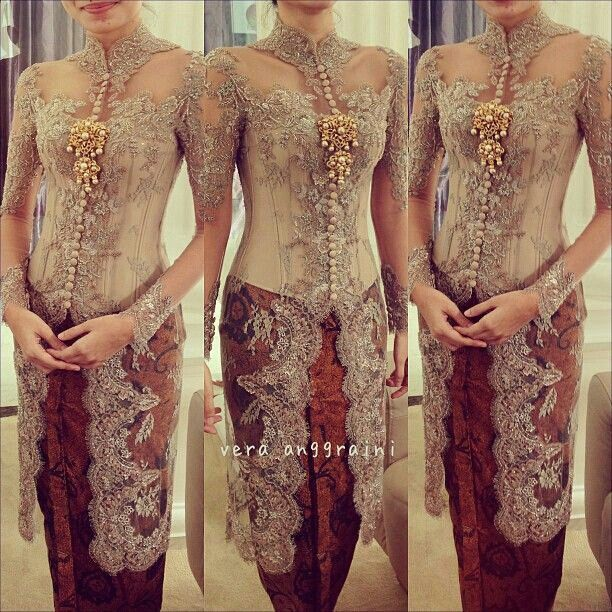 17 Koleksi Foto Pengantin Dg Model Baju Kebaya Gaun: 17 Best Images About Kebaya On Pinterest