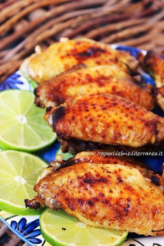 i sapori del mediterraneo: Ali di pollo al lime , ovvero churrasco do Brazil