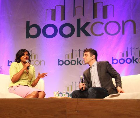 Mindy Kaling and BJ Novak Book Con Interview About Why Not Me