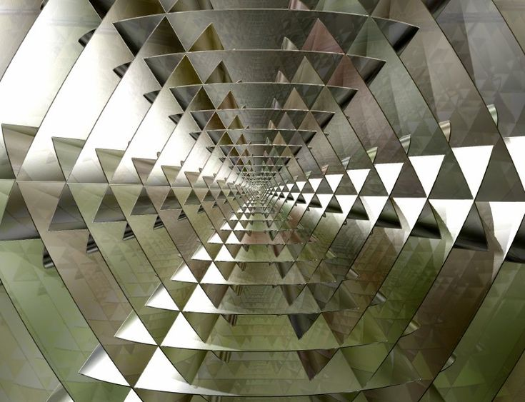 Geodesic Tunnel: Geodesic Tunnel, Fractal Art, Troogle, Fractals