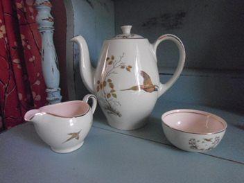 Alfred Meakin Coffee Set *Pheasant*