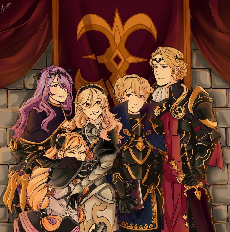 Fire Emblem Fates - Nohrian Royals