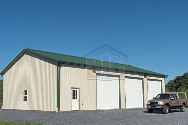 The Catalyst Commercial Garage 34x55x14 Big Buildings Direct Metal Building Insulation Big Building Garage