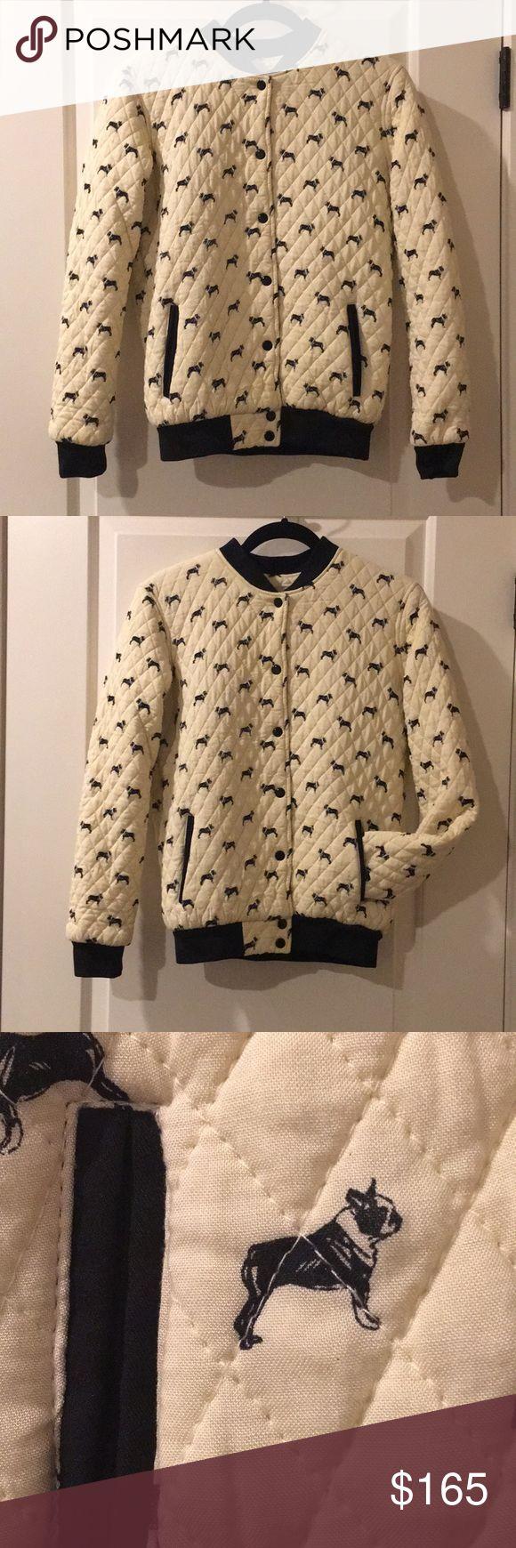 *New* Boston Terrier / French Bulldog Jacket *New Boston Terrier / French Bulldog Jacket Very Rare / HTF  Very Cute Jacket !!  Size :M Jackets & Coats