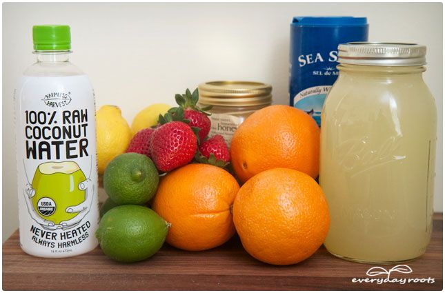 DIY Energy Drink Do you know what's in your Gatorade?  Do you really want to spend the big bucks?