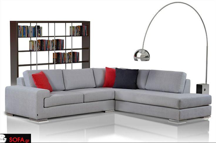 Γωνιακός Καναπές Level http://sofa.gr/goniakos-kanapes-level