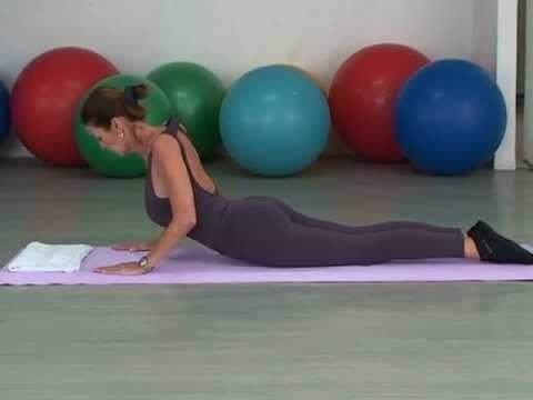 Dicas de saúde e Pilates 09: Postura, fortalecimento dos músculos lombares e toráxicos - YouTube