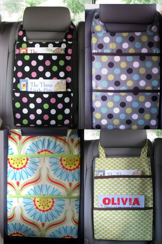 Organizer for the car - would be great to have for each kiddo.