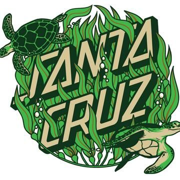 "SANTA CRUZ Kelp Dot Decal 3"" Skateboard Sticker"