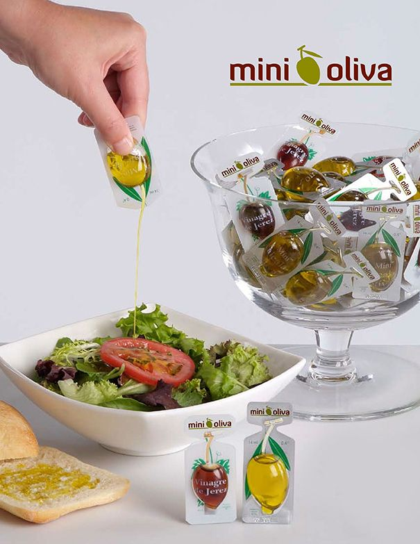 portable olive oil & salad vinegar! 25 Creative Packaging Designs That Practically Sell Themselves | Bored Panda