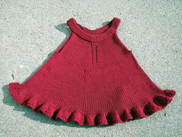 Violet Dress Knitting Pattern : 17 Best images about knit dresses for little girls on Pinterest Knitted bab...