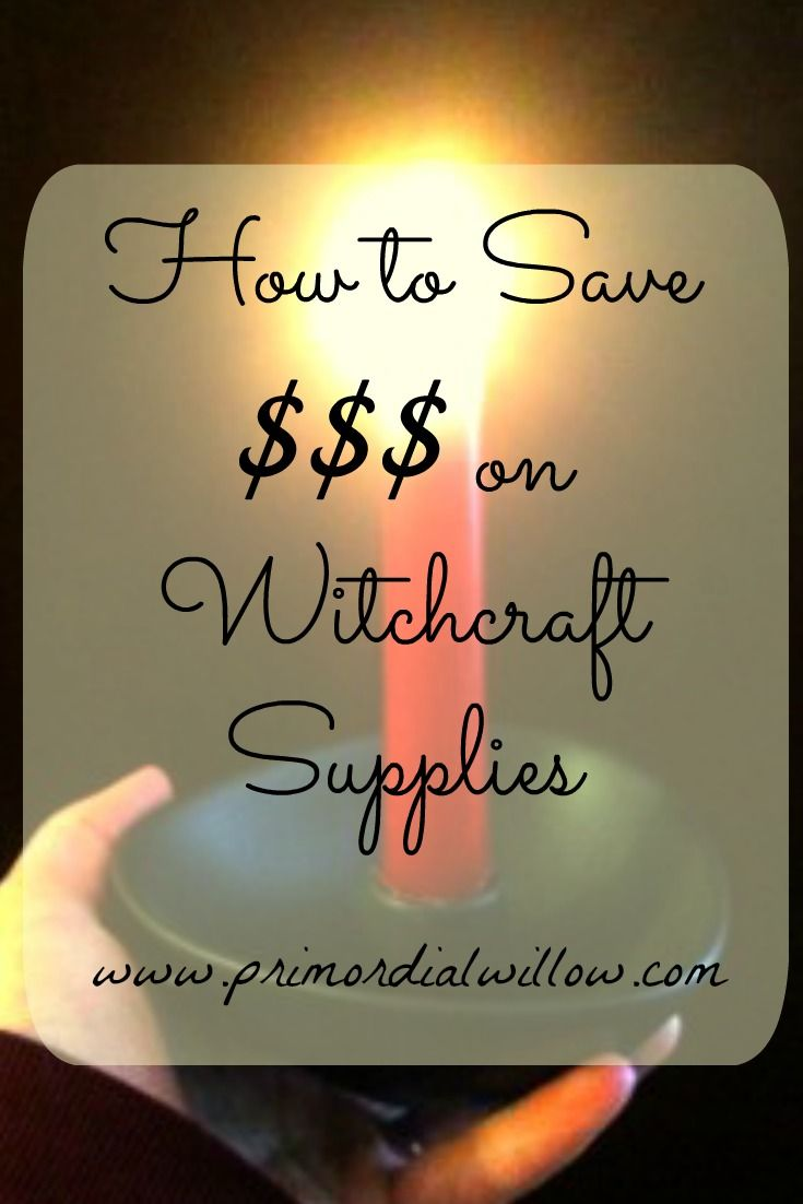 Have you looked at the cost of candles lately? And don't even think about looking at altar supplies if you're on a tight budget - - - they're outrageous! If you're like me, a Pagan on a very fixed ...