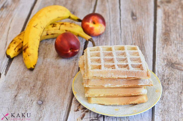 Najlepsze domowe gofry przepis KAKU fashion cook / best waffle