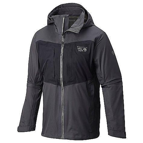 Mountain Hardwear Men's Straight Chuter Jacket: FEATURES of the Mountain Hardwear Men's… #snowboarding #rockclimbing #hiking #camping