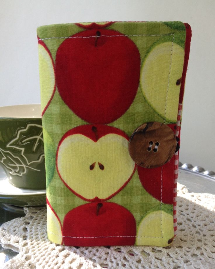 A personal favorite from my Etsy shop https://www.etsy.com/listing/493788039/tea-wallet-apple-print-tea-wallet