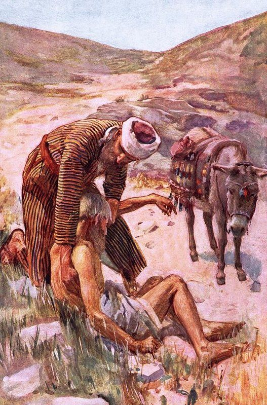 the good samaritan parables of jesus The parable of the good samaritan is often read by many in a rather  (luke 10: 26-28) in way jesus is humoring him and drawing him out.