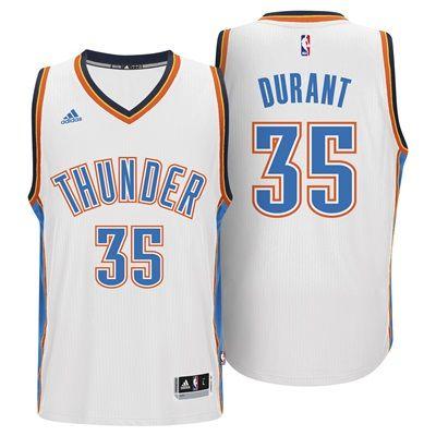 Oklahoma City Thunder Home Swingman Jersey -Kevin Durant - Mens: Oklahoma City Thunder Home Swingman Jersey -… #nbastore #nbastoreeurope