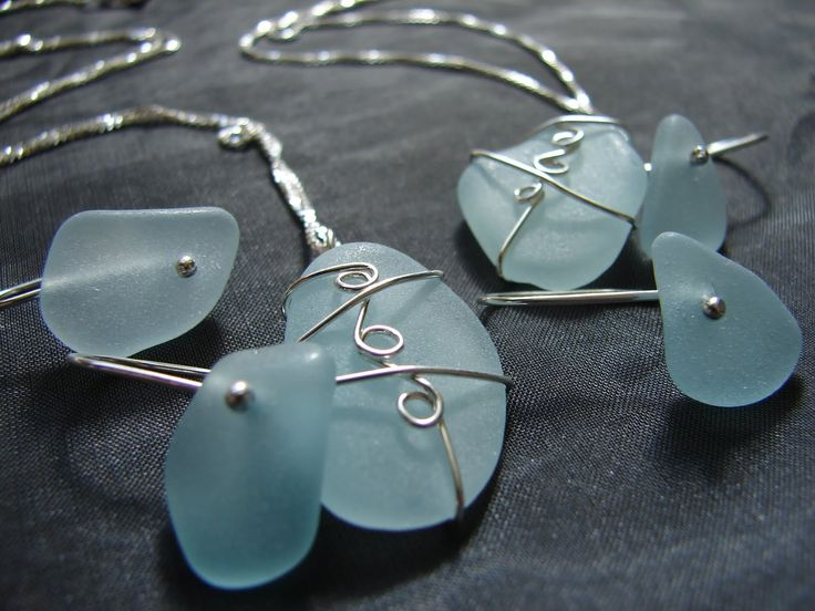 193 best Beach Glass Jewelry images on Pinterest Sea glass jewelry
