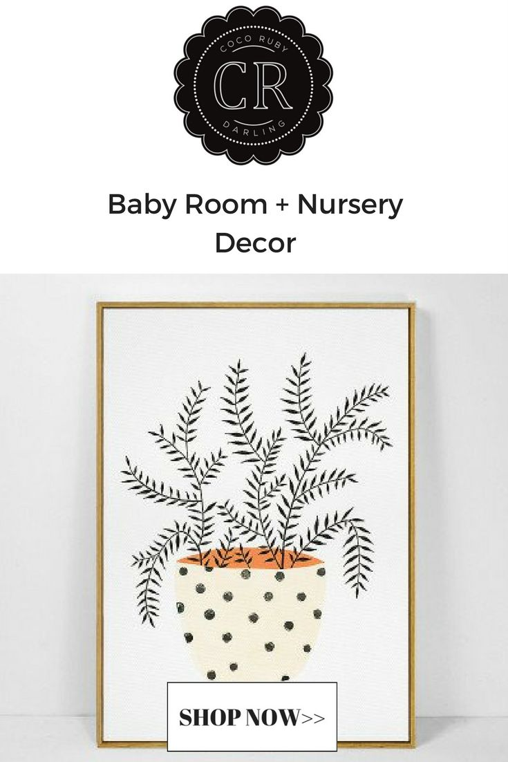 Modern Kids & Baby Room Decor Art Prints – Coco Ruby Darling