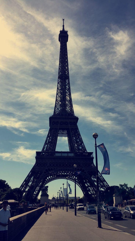 Torre Eiffel, París Francia 2016