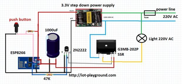 Esp8266 5 Internet Connected Switch Pictures Of