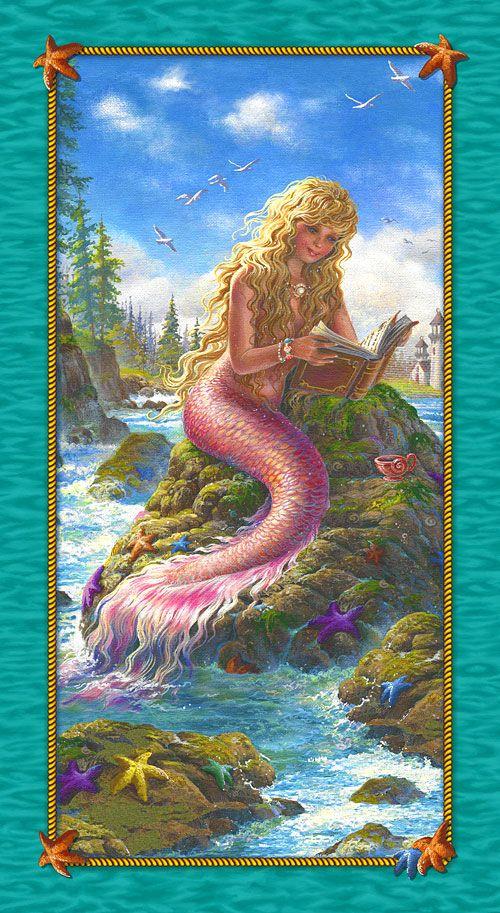1555 Best Mermaid Artwork Modern Misc Images On