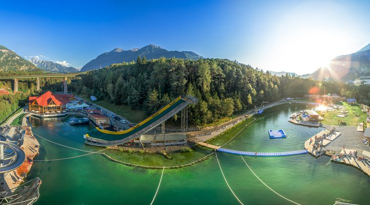 Leisure time and sports experiences for young and old: AREA 47 in Austria. The largest outdoor playground.