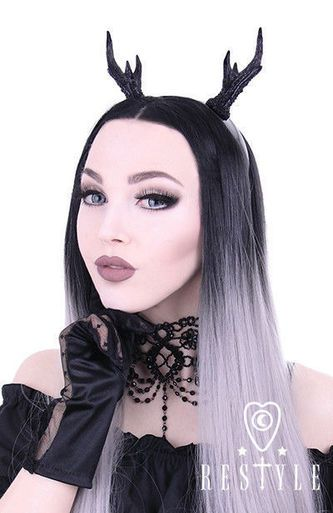 Restyle Deer Antlers Punk Gothic Rock Animal Emo Cute Scene Girls Headband