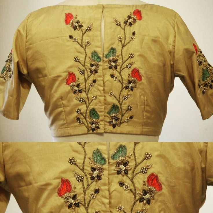 Pinterest achyi blouse bling embroidered