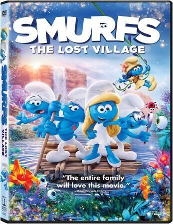 Smurfs The Lost Village [Blu-ray]
