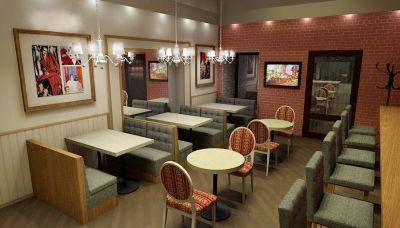 RestСon - Дизайн ресторанов, кафе, баров, фаст-фуд, пиццериий и других предприятий общественного питания. Дизайн-проект ресторана. Дизайн интерьеров.