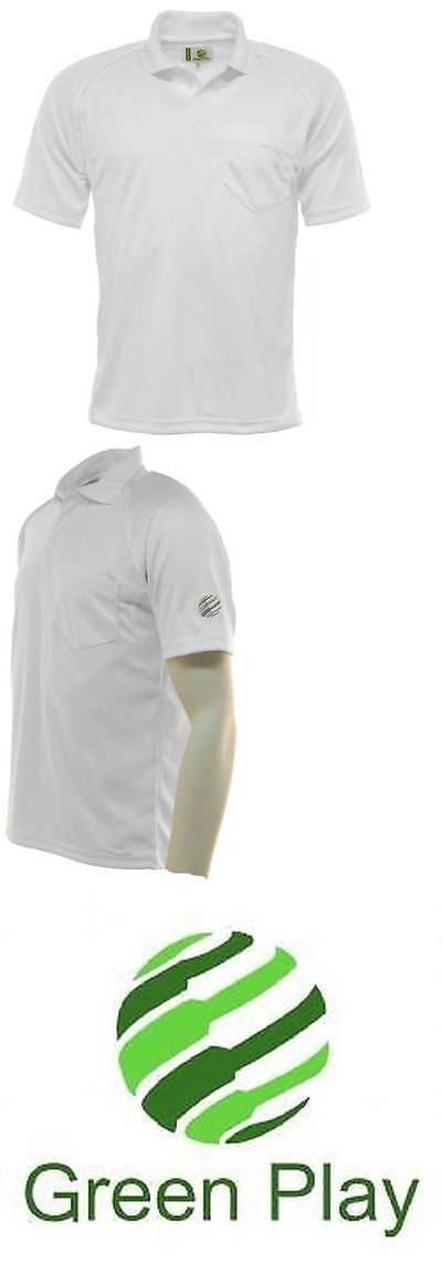Snap Caps 177882: Mens Green Play Professional Sports Polo Shirt - Bowls, Golf, Cricket -> BUY IT NOW ONLY: $37.36 on eBay!