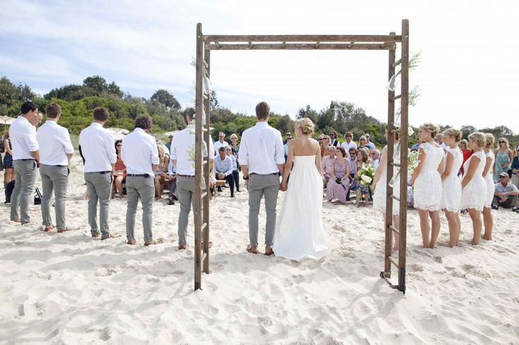 How about a white wedding? Visit our website at www.byronbeachcafe.com.au to discover how we can help you plan your dream Byron Bay Wedding