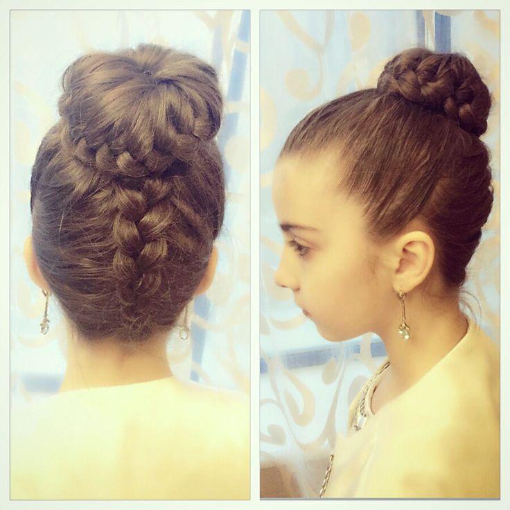 Плетение кос, прически для девочек