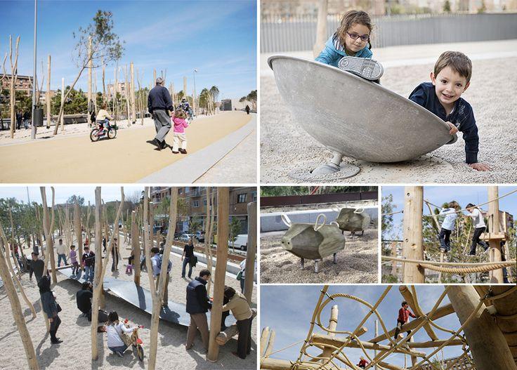 Bdu - Parque Salón de Pinos, Madrid #bdu #juegos #juegosinfantiles #madrid #proyectos