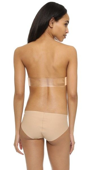 The Natural Seamless Clear Back Bra