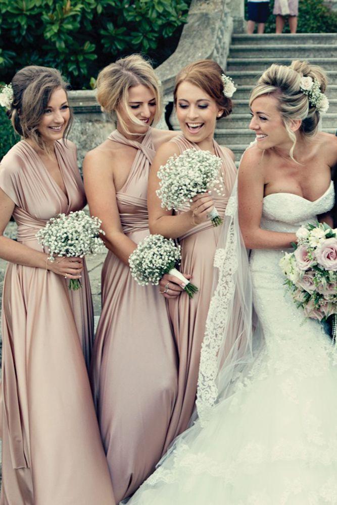 30 unglaubliche Brautjungfern-Hochzeitssträuße   – Rose Wedding Inspiration