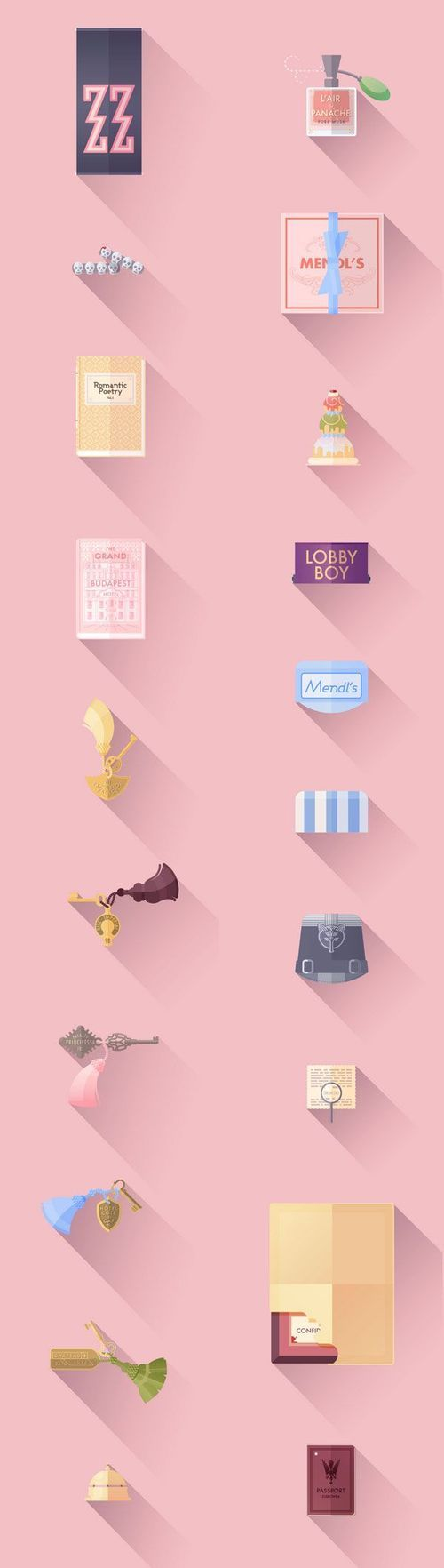 grand budapest hotel illustrated props