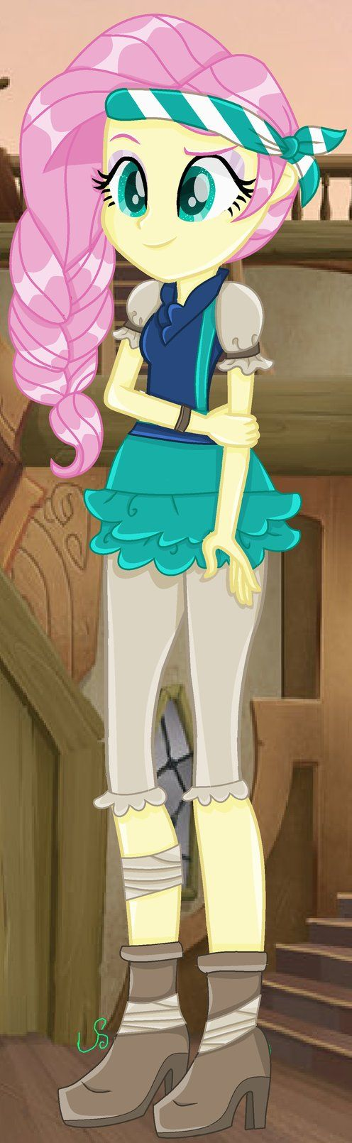 Mlp The Movie Eg Fluttershy Pirate by lightningsentry1.deviantart.com on @DeviantArt