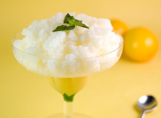 This post comes courtesy of Jennifer Farley, blogger, recipe developer and food photographer atSavory Simple.  A granita, also known as granita siciliana, is a frozen dessert made from suga...
