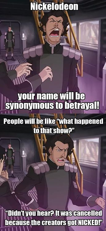 Varrick speaks on behalf of the Legend of Korra fandom