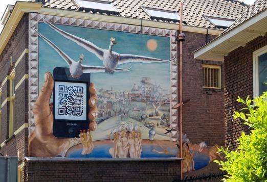 Fresco groepsproject Academie voor kunst en ambacht 2013 #triniteitstraat #DenBosch #fresco