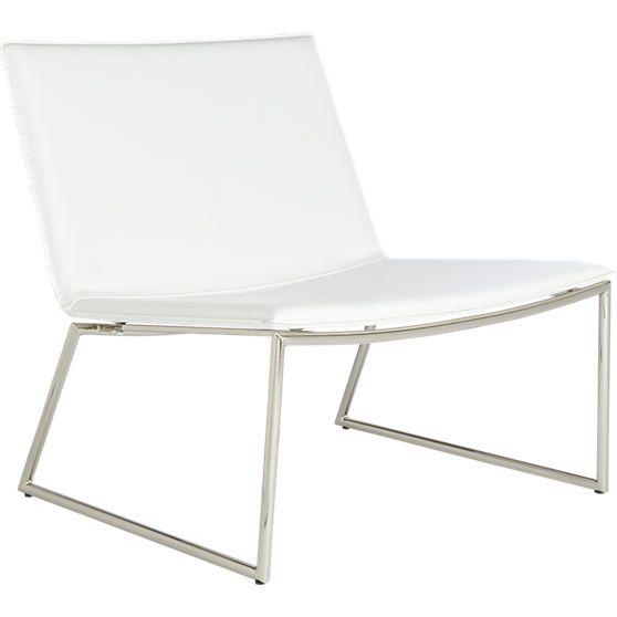 Triumph Chalk Lounge Chair Cb2 Chair Garden Table